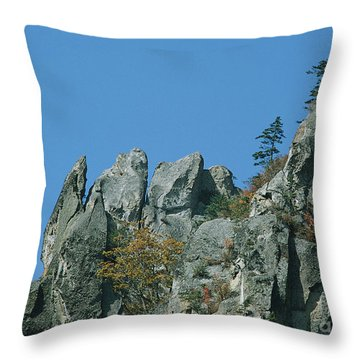 Sky Photography Throw Pillow
