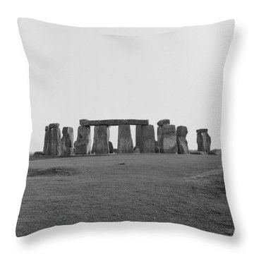 Stonehenge Throw Pillow by Anonymous