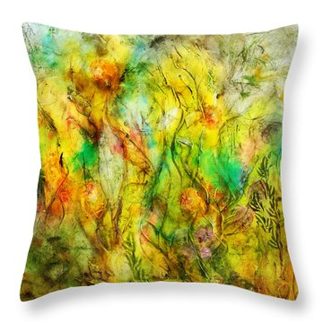 Summers Day Throw Pillow