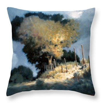 Sun Garden Throw Pillow