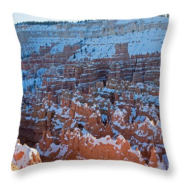 Sunset Point Bryce Canyon National Park Throw Pillow