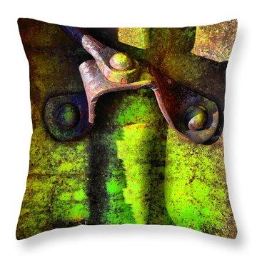 Synapse Throw Pillow by Lauren Leigh Hunter Fine Art Photography