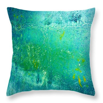 Tao Chi Throw Pillow by Amar Sheow
