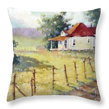 Texas Plain And Simple Throw Pillow