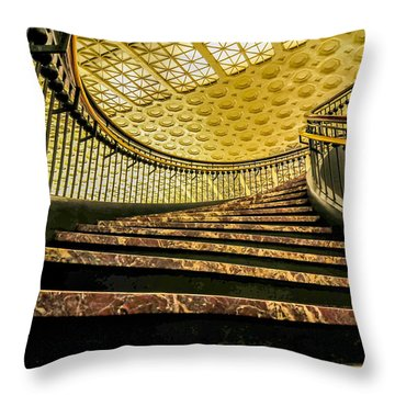 Union Station Washington Dc Throw Pillow