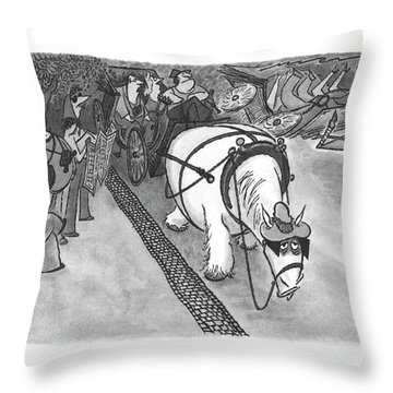 New Yorker June 5th, 2000 Throw Pillow