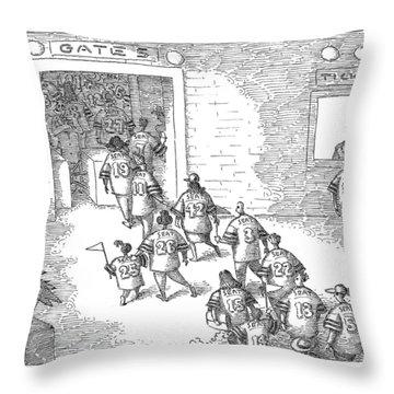 New Yorker December 11th, 2006 Throw Pillow