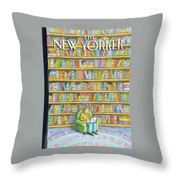 Books Throw Pillows