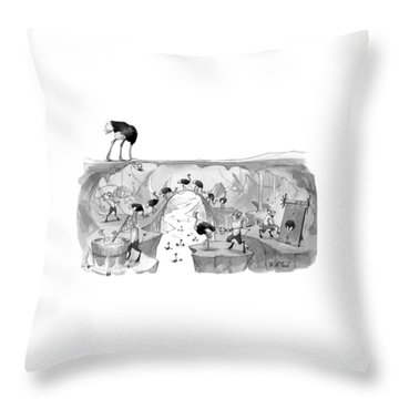 New Yorker October 31st, 2016 Throw Pillow
