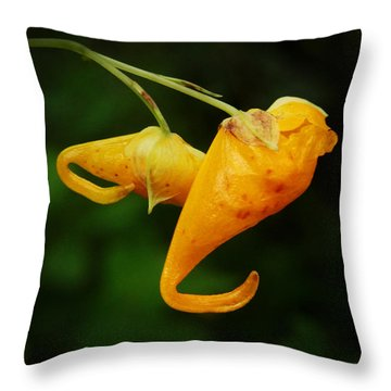 Throw Pillow featuring the photograph Waiting by Zinvolle Art
