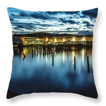 30 Sec Of The Blue Hour Throw Pillow