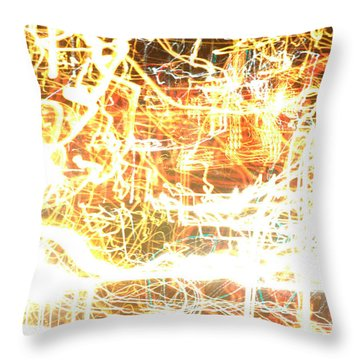 Throw Pillow featuring the photograph 30 Seconds Of Lie by Steven Macanka