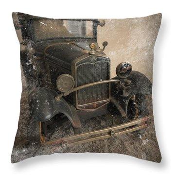 '31 Ford Diecast Truck Model Throw Pillow by Scott Kingery