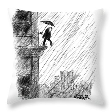 New Yorker May 22nd, 2000 Throw Pillow