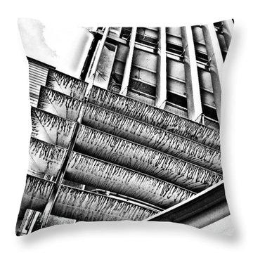 Car Park Throw Pillow by Jason Michael Roust