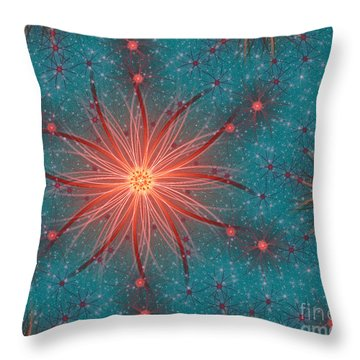 Colorful Abstract Forms Throw Pillow