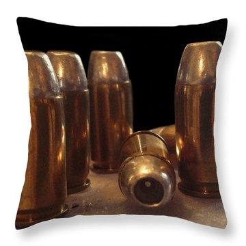 Bullet Art 32 Caliber Bullets 3514 Throw Pillow