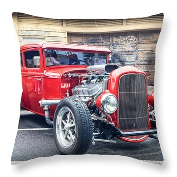 '32 Ford Coupe Souped Throw Pillow