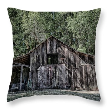 33 Throw Pillow by Betty Depee