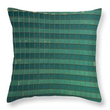 333 W Wacker Building Chicago Throw Pillow by Steve Gadomski