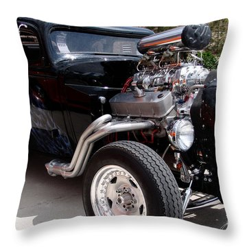 34 Custom Chevy Throw Pillow by Chris Thomas