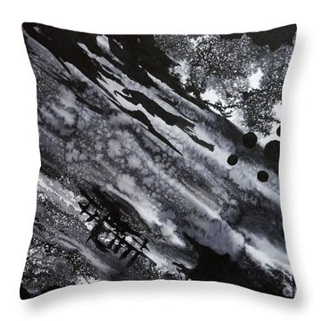 Boat Andtree Throw Pillow
