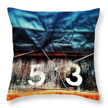 3535 Throw Pillow by Olivier Calas