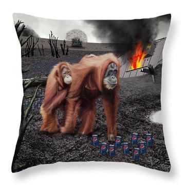 355ml Throw Pillow