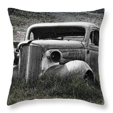 37 Chev Throw Pillow by Kelley King