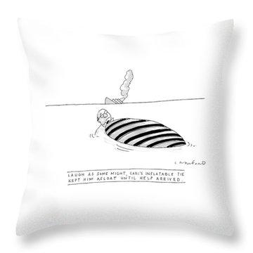 'laugh As Some Throw Pillow