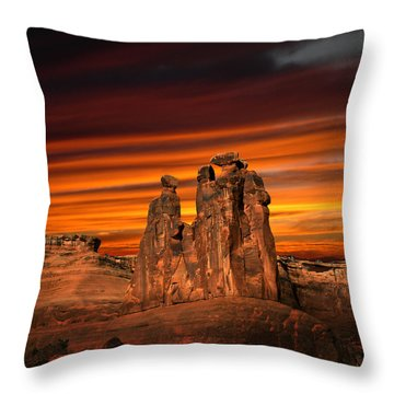 3712 Throw Pillow