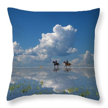 3747 Throw Pillow