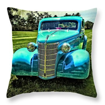 38 Chevy Coupe Throw Pillow