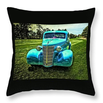 38 Chevrolet Classic Automobile Throw Pillow