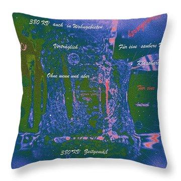 380 Kv Power The Future Throw Pillow