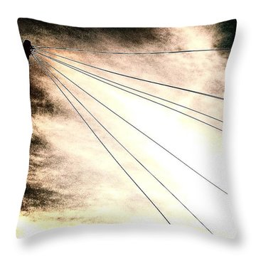 Dramatic Sky 2 Throw Pillow