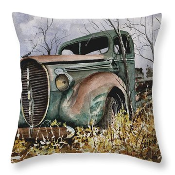 39 Ford Truck Throw Pillow
