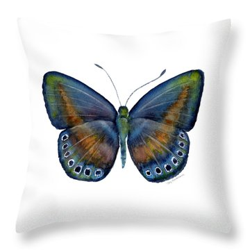 39 Mydanis Butterfly Throw Pillow