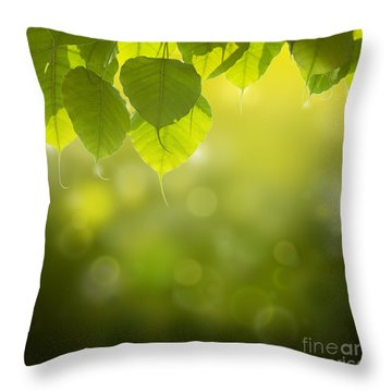 Pho Or Bodhi Throw Pillow