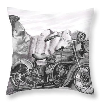 39 Scout Throw Pillow