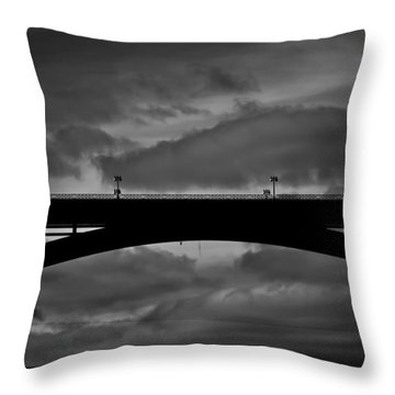 39 Seconds Throw Pillow