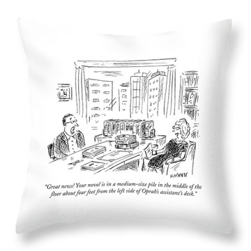 Publishing Throw Pillows