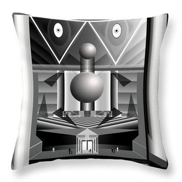 393 -  Great Housing Machine ... Throw Pillow
