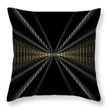 Abstract 100 Throw Pillow by J D Owen