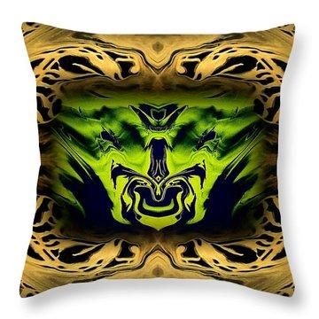 Abstract 52 Throw Pillow by J D Owen