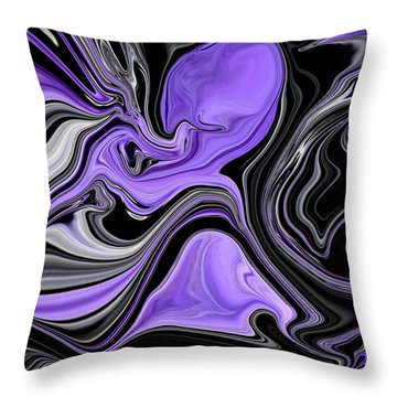 Abstract 57 Throw Pillow by J D Owen