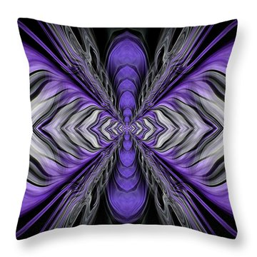 Abstract 73 Throw Pillow by J D Owen