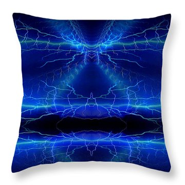 Abstract 76 Throw Pillow