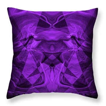Abstract 93 Throw Pillow