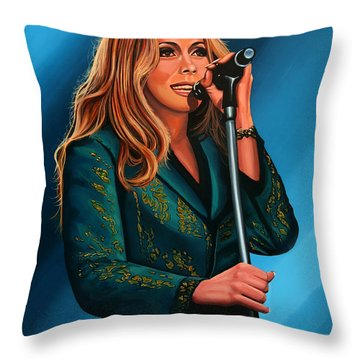 Anouk Painting Throw Pillow